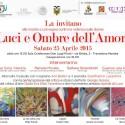 """Mostra """"luci e Ombre dell'Amore"""" a Travedona Monate"""