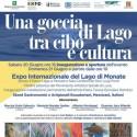 """Mostra """"Una goccia di Lago tra cibo e cultura"""" Travedona Monate 20-21 giu 2015"""