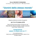 Uomini dello stesso mondo – Villa Visconti d'Aragona – Sesto S.G. ottobre 2019